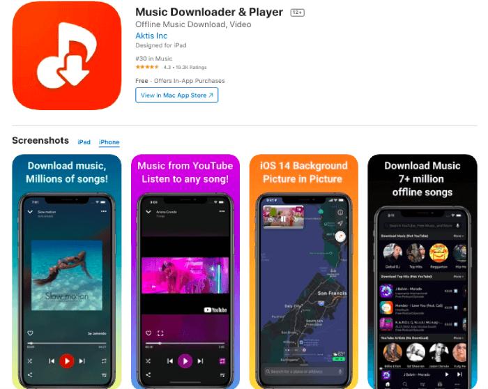 Aktis MP3 Music Downloader & Player