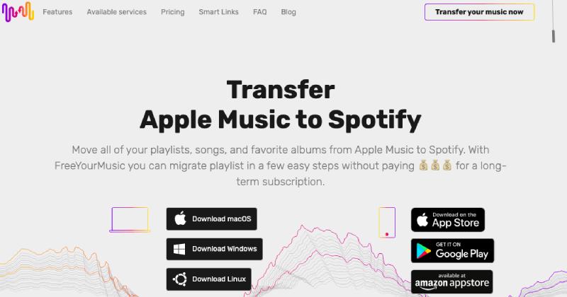 FreeYourMusic Spotify to YouTube