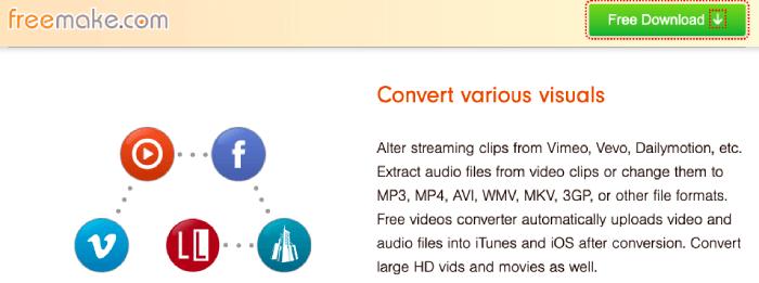 Freemake MP3 Music Downloader Free