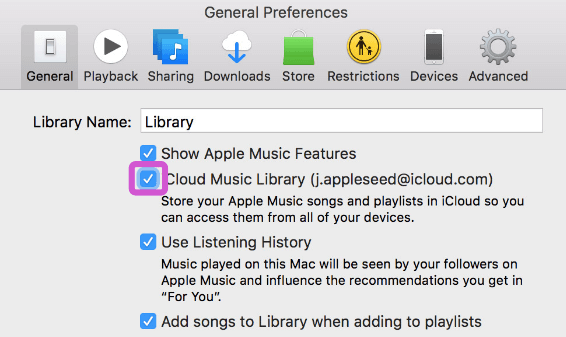 Apple Music Not Working iCloud Music Library