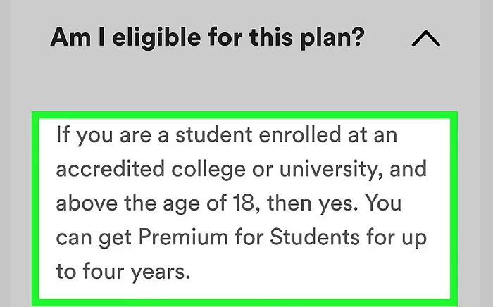 Spotify Student Discount Am I Eligible