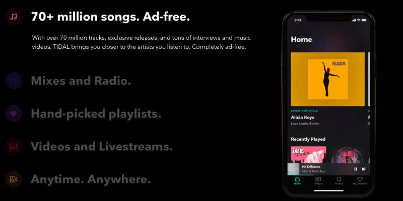 Tidal vs. Spotify User Experience Tidal