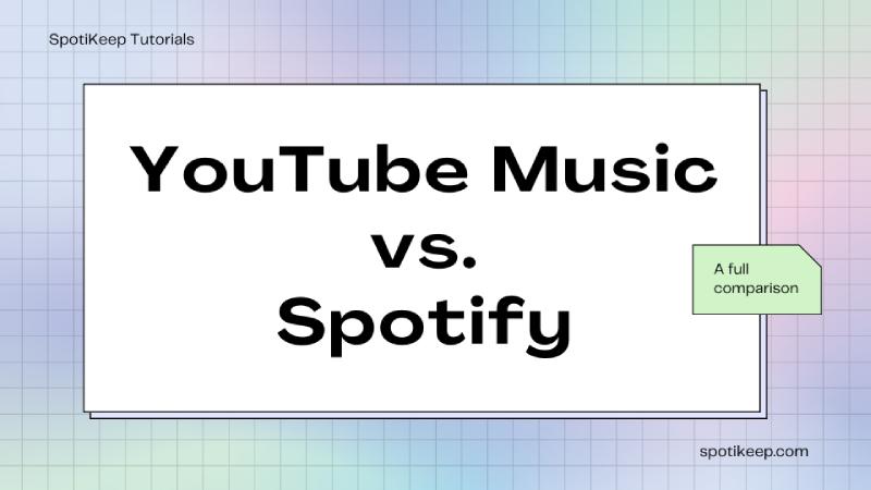 YouTube Music vs. Spotify Interface YouTube